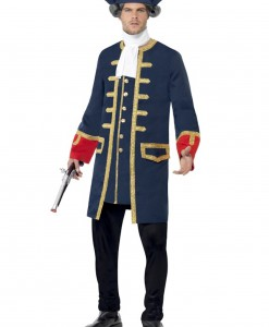 Adult Pirate Commander Costume