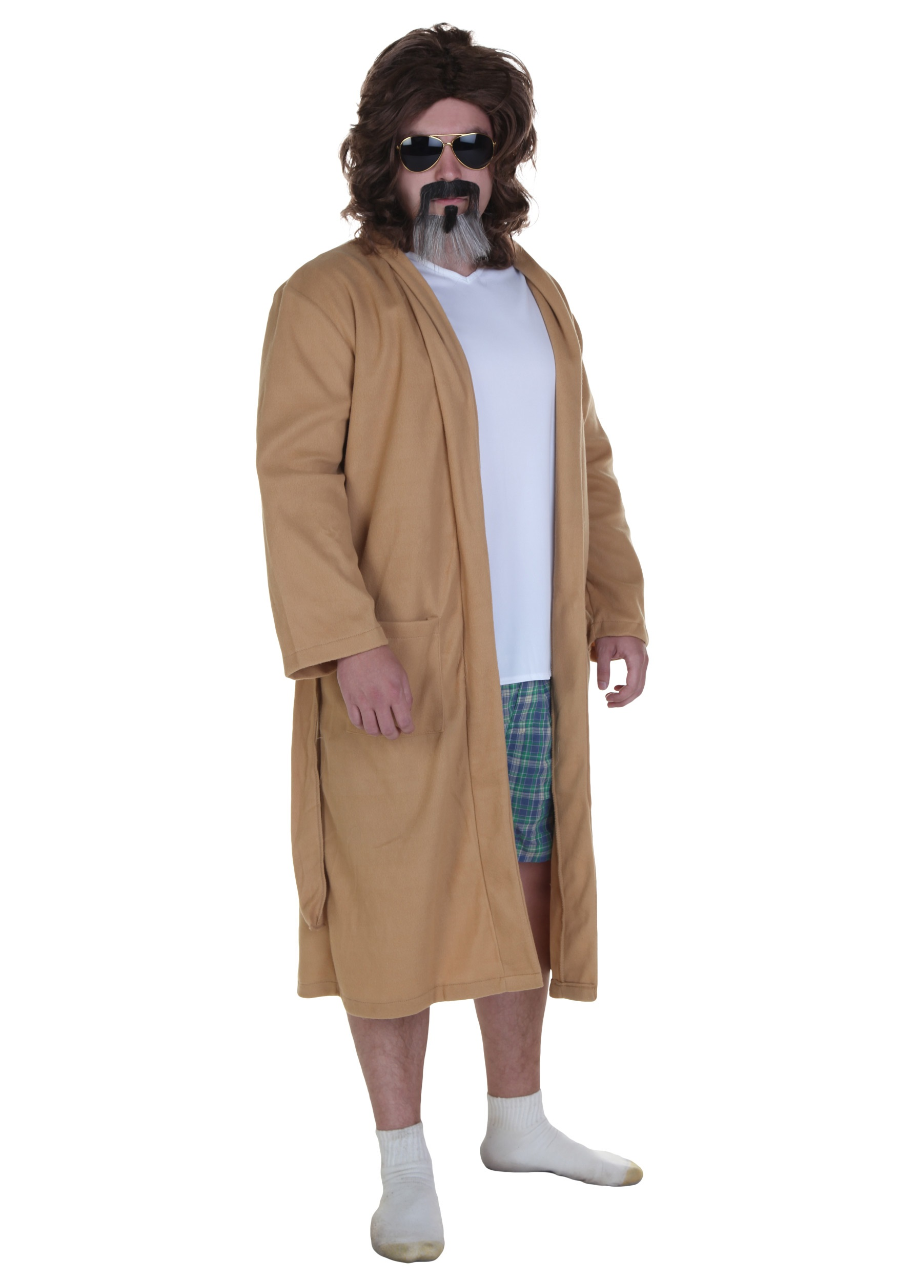 Big Lebowski The Dude Bath Robe Costume Halloween Costume Ideas 2021