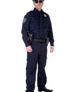 Plus Size Authentic Cop Costume