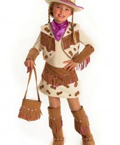 Girls Rhinestone Cowgirl Costume