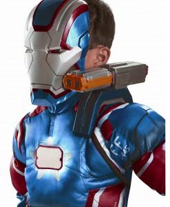 Iron Patriot Shoulder Chain Gun