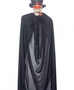Hanging Cigar Smoking Skeleton