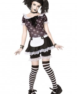 Plus Size Gothic Rag Doll Costume