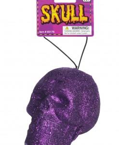 Purple Glitter Skull