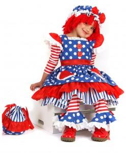 Child Raggedy Ann Costume