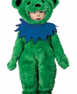 Toddler Grateful Dead Green Dancing Bear Costume