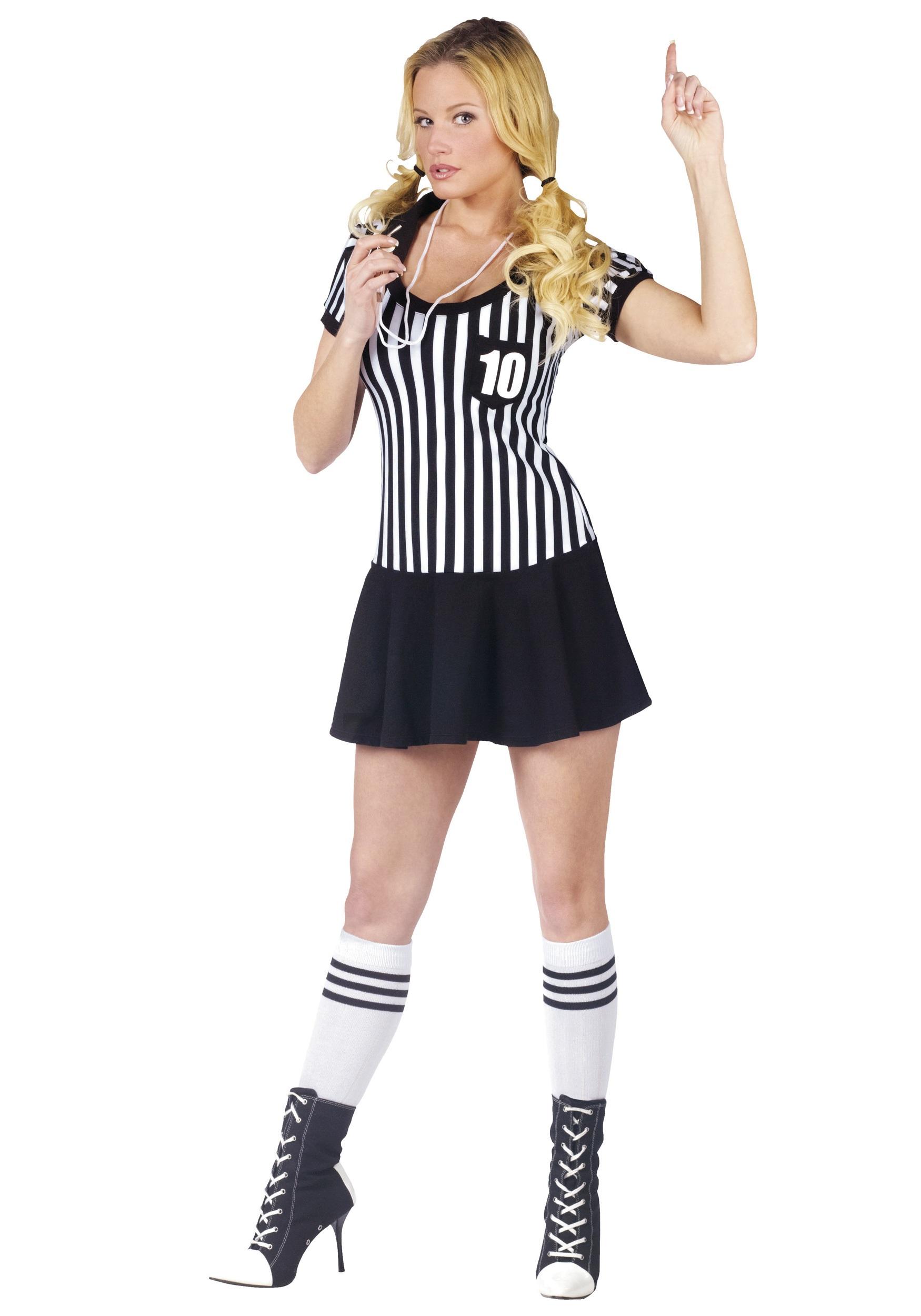 Sexy referee costumes