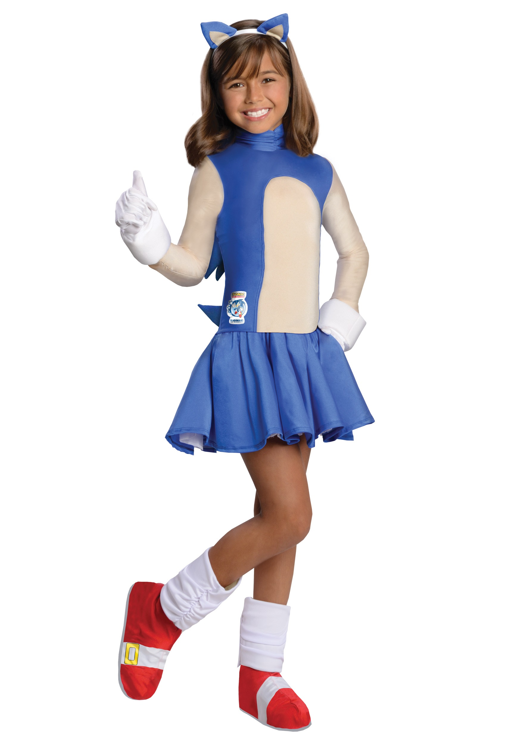 Child Sonic Girls Costume Halloween Costume Ideas 2019