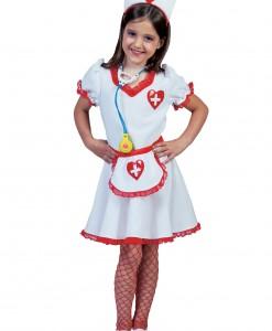 Girls Nurse Nancy Costume