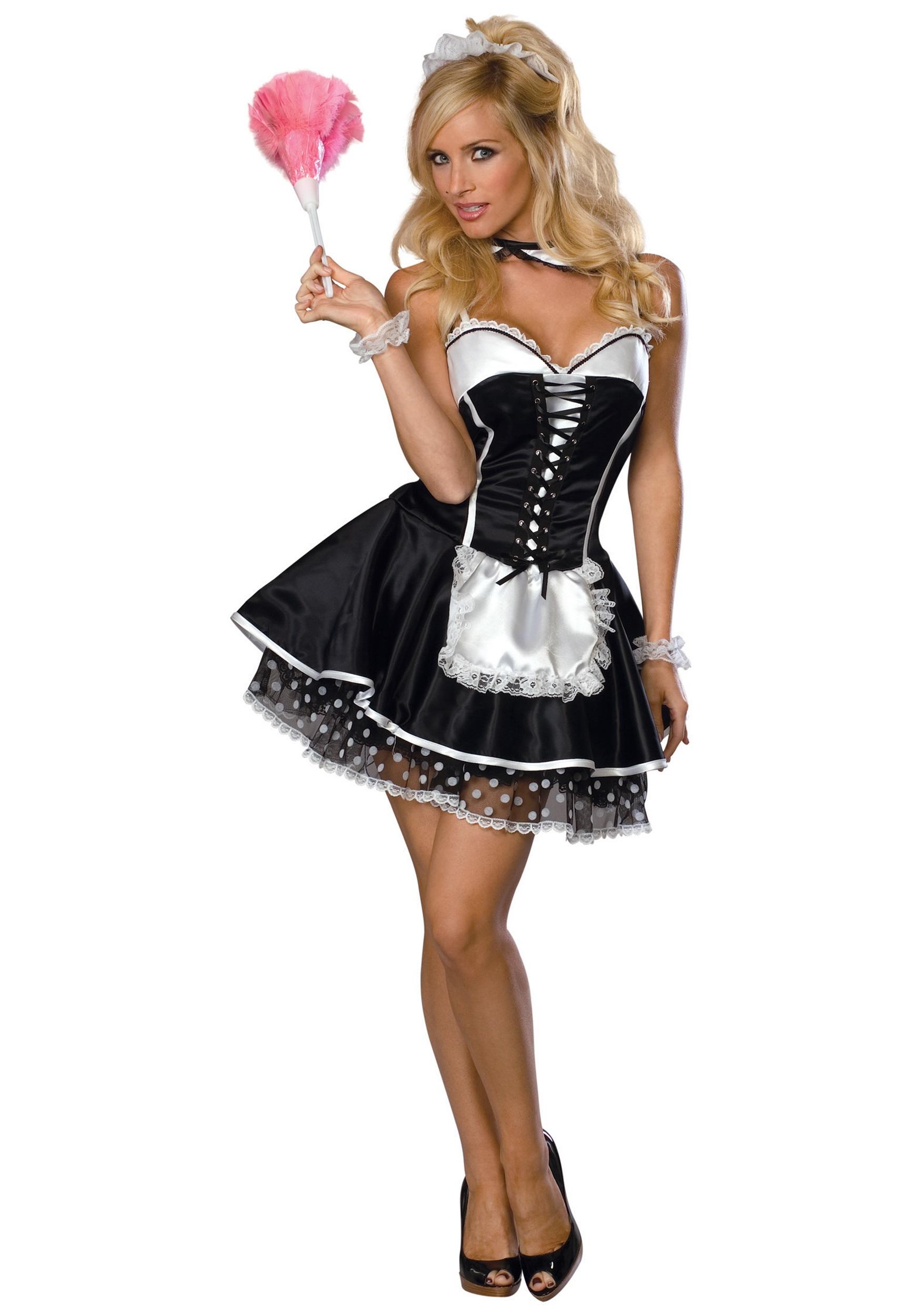 Sexy Housemaid Clipart