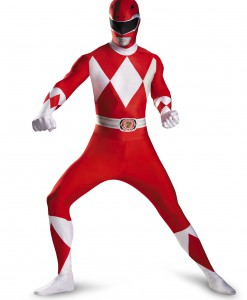 Teen Red Ranger Bodysuit Costume