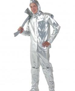 Men's Plus Size Tin Woodsman Costume