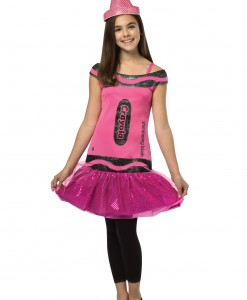 Tween Crayola Blush Glitz Dress