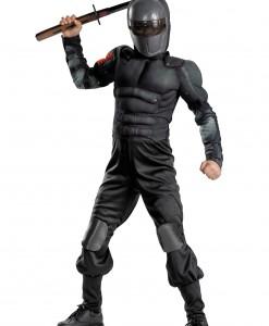Kids Snake Eyes Muscle Costume