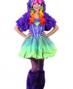 Teen Purple Posh Monster Costume