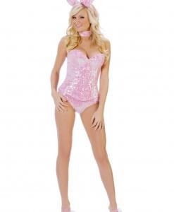 Pink Sequin Bunny Costume