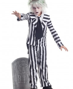Child Graveyard Ghost Costume