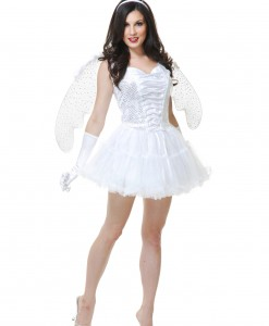 Women's White Angel Costume