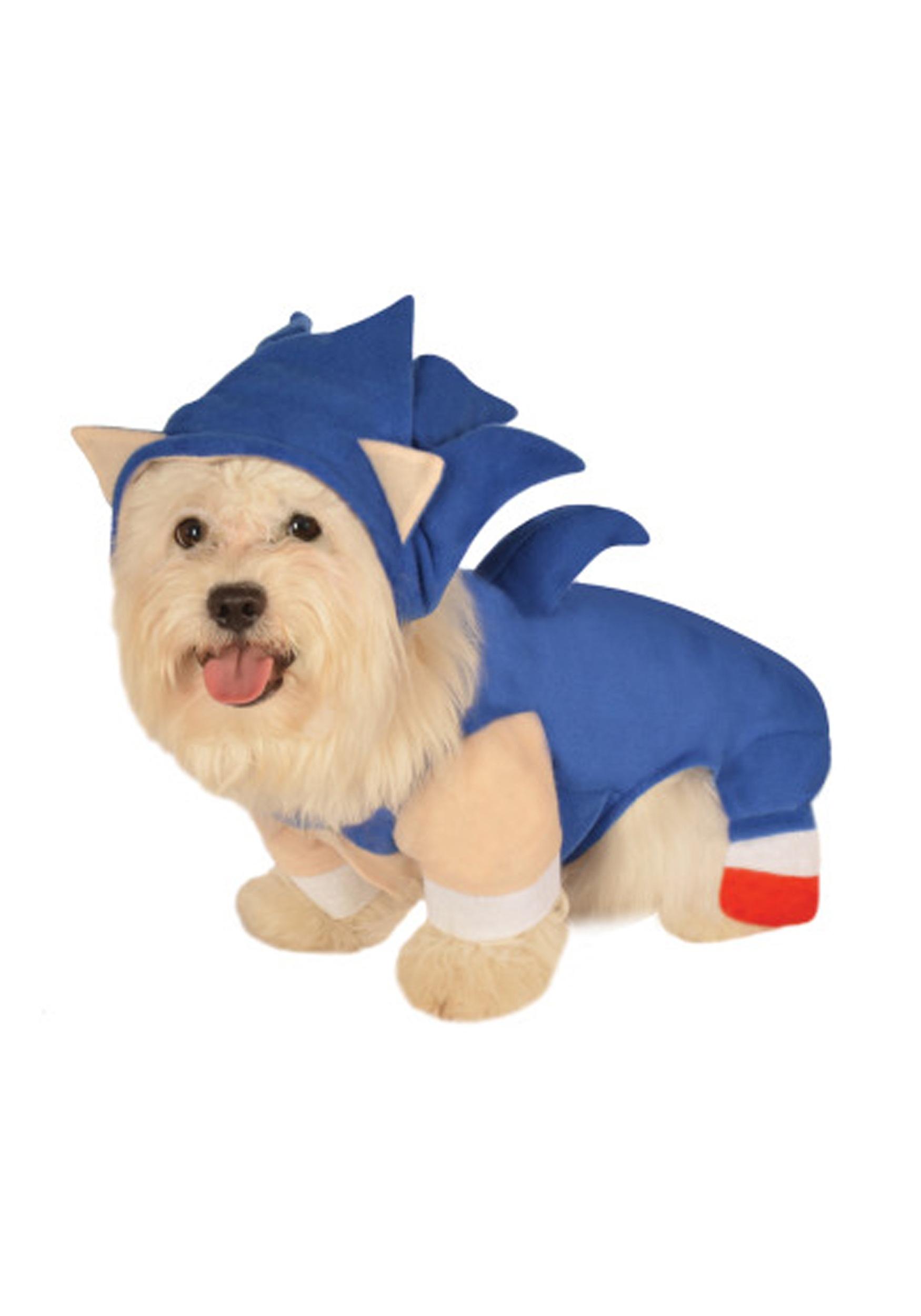 Sonic The Hedgehog Pet Costume Halloween Costume Ideas 2019