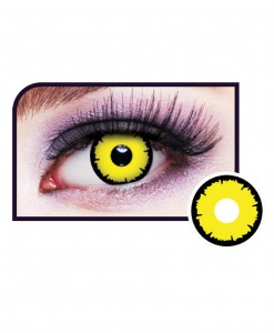Angelic Yellow Eye Contact Lenses