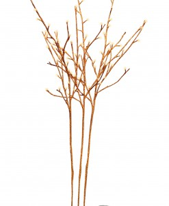 Orange Glitter Twigs