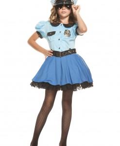 Girls Police Uniform Costume