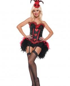 Sexy Cabaret Showgirl Costume