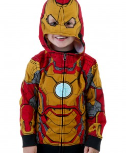 Toddler Iron Man Mark 42 Hoodie