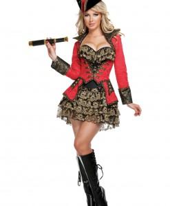 Elite Red Pirate Costume