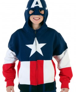 Youth Captain America Hoodie