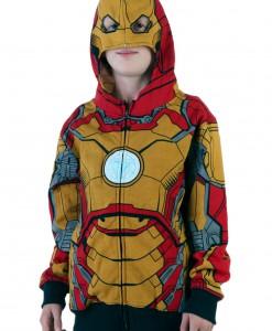 Youth Iron Man 42 Costume Hoodie