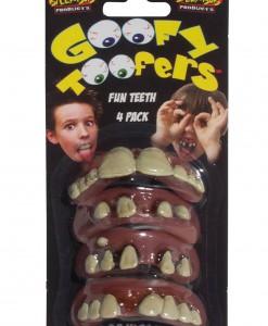 Kids Goofy Toofers 4 Pack