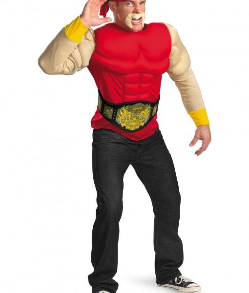 Adult Hulk Hogan Muscle Costume