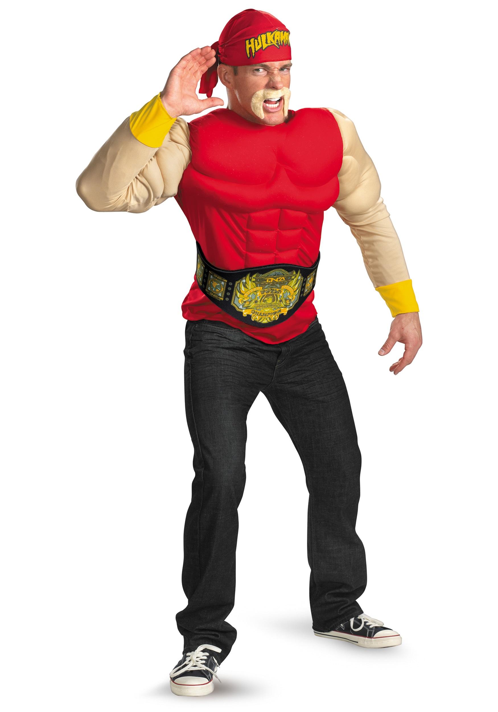 Adult Hulk Hogan Muscle Costume - Halloween Costume Ideas 2021