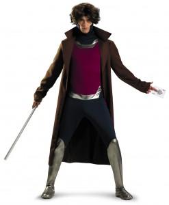 Plus Size X-Men Gambit Costume