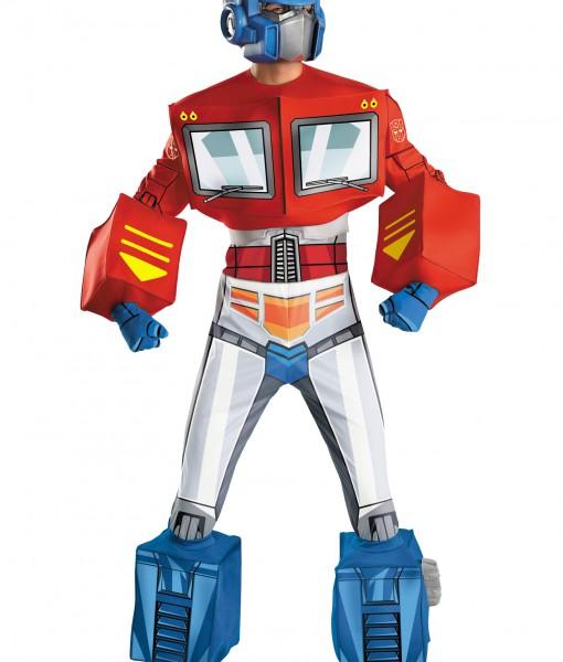 Optimus Prime Super Deluxe Adult Retro Costume