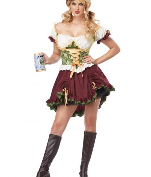 Beer Garden Girl Plus Size Costume