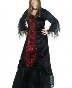 Plus Size Womens Gothic Vampire Costume