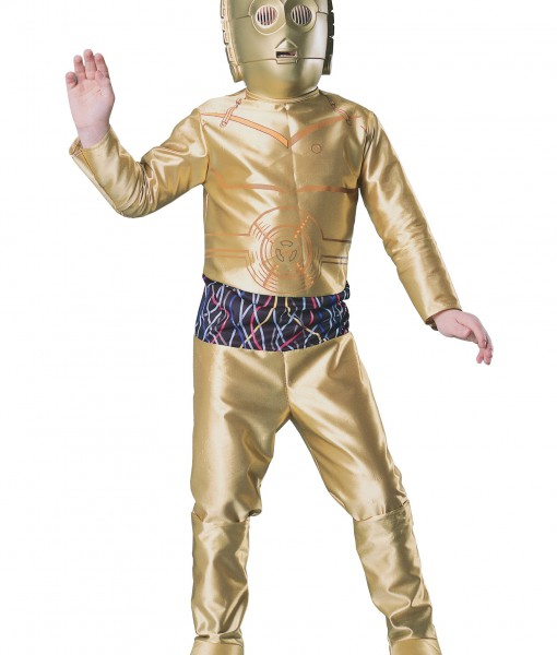 Kids C3PO Costume