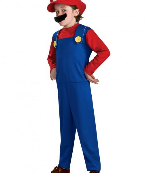 Child Mario Classic Costume