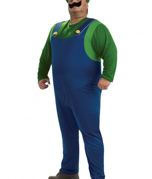Plus Size Luigi Costume