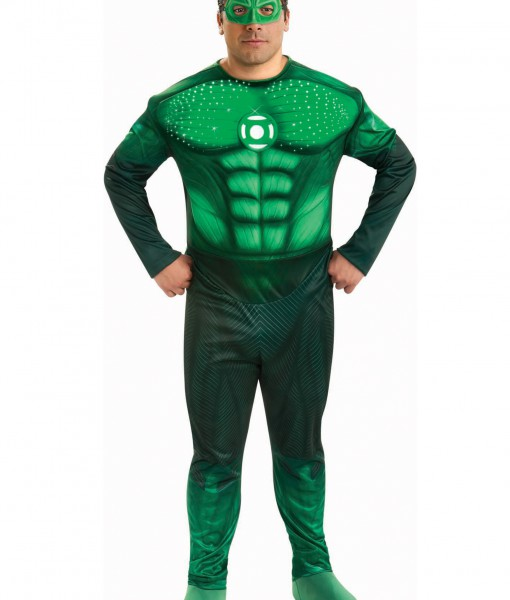Plus Size Deluxe Green Lantern Costume