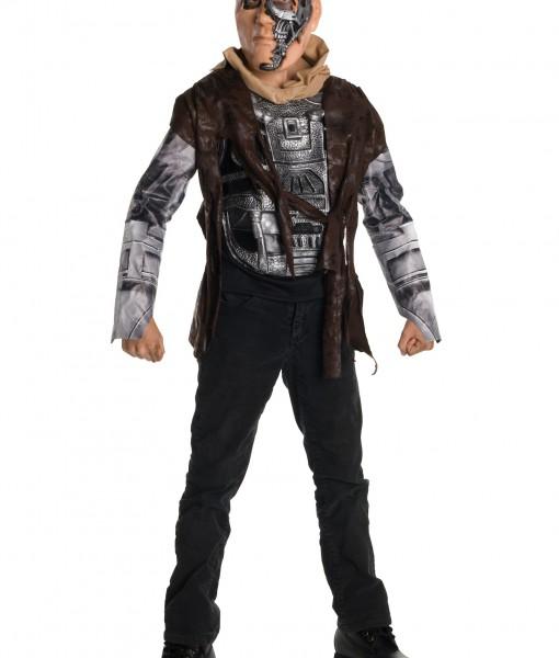 Terminator 4 Child Deluxe T600 Costume