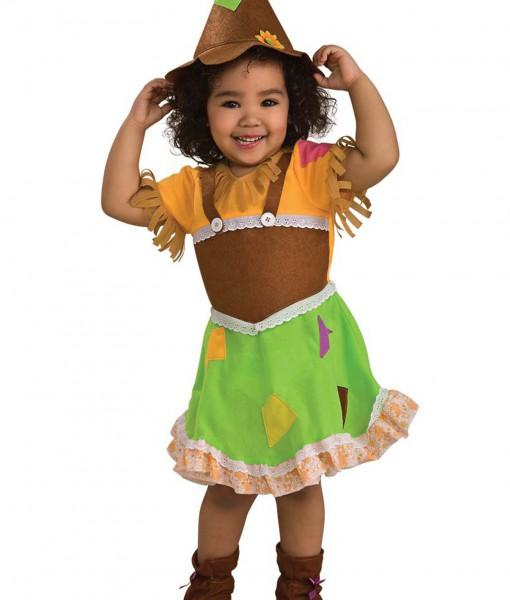 Toddler Scarecrow Girl Costume