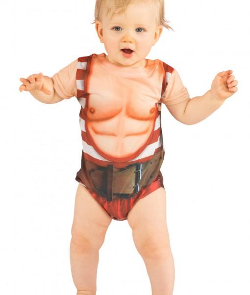 Infant Strongman Costume TShirt