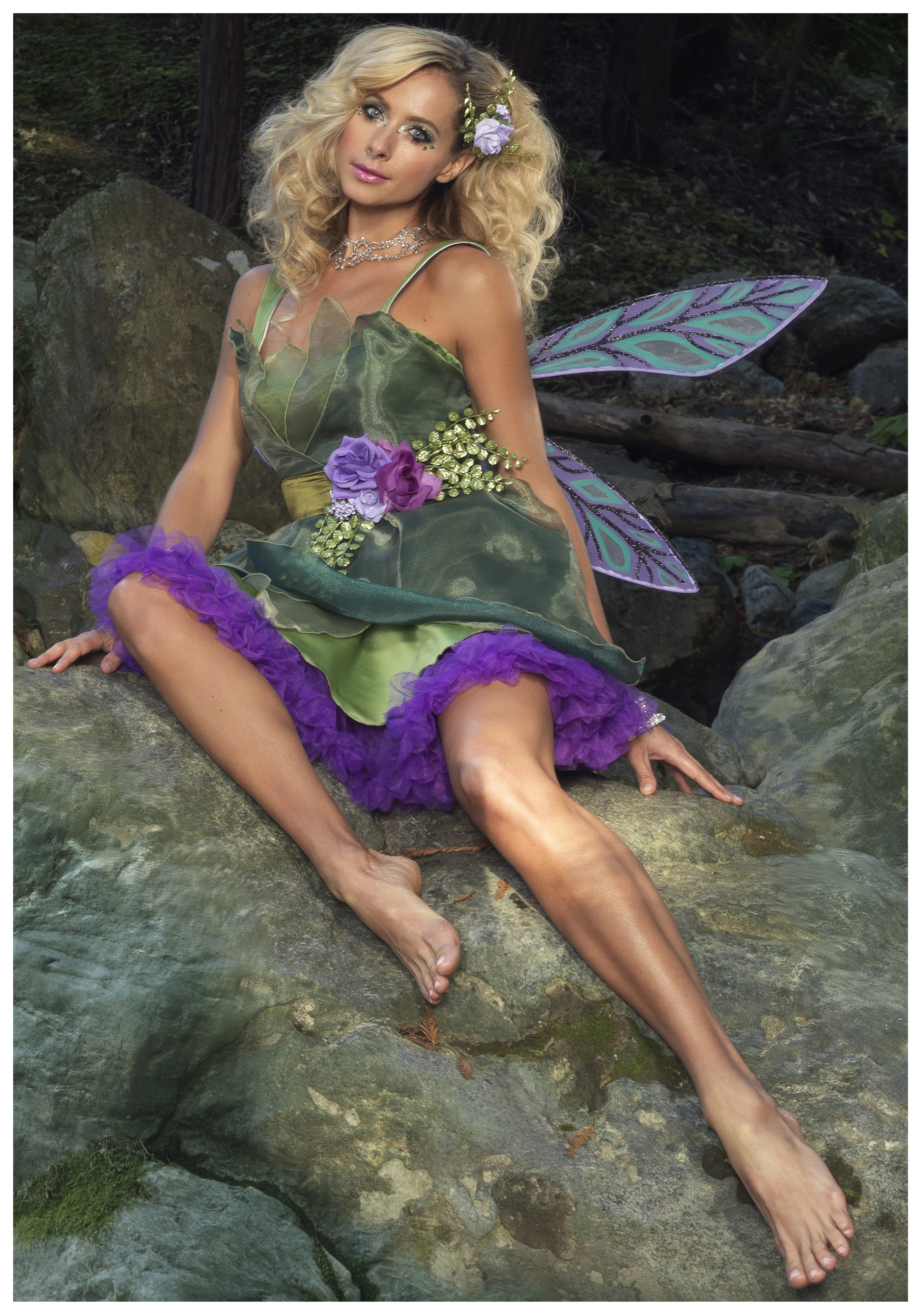 Adult fairy photoshoot
