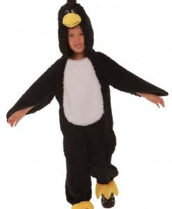 Child Black Grumpy Bird Costume