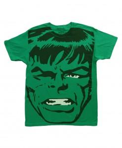 Mens Big Head Incredible Hulk TShirt