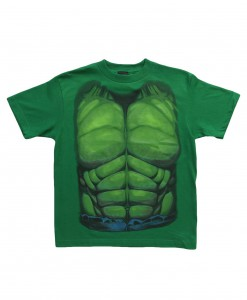 Kids Hulk Smash Costume TShirt