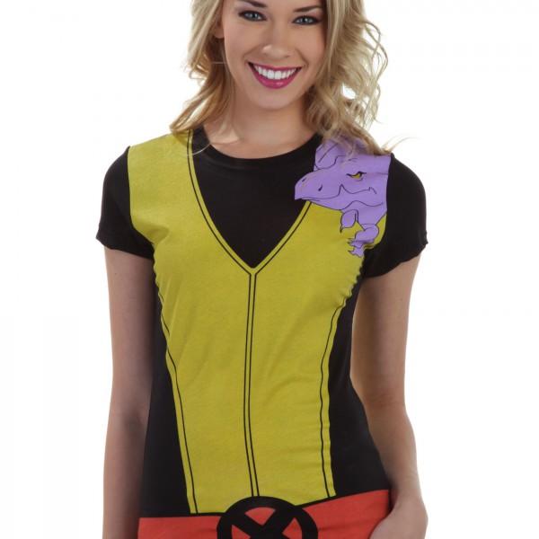 Womens Kitty Pryde Lockheed Costume T-Shirt